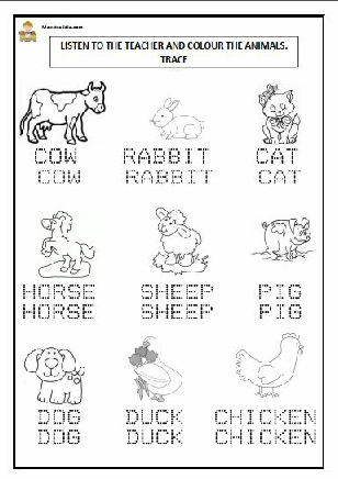 FARM ANIMALS  ENGLISH.pdf