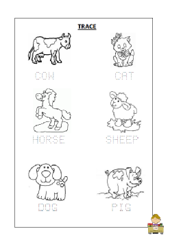 FARM ANIMALS  TRACE.pdf