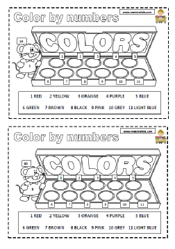 color by numbers.pdf