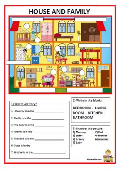 Rooms Of House Primaria