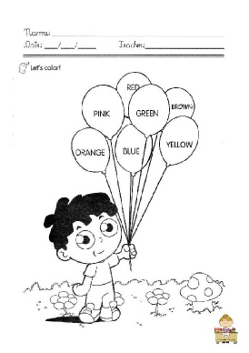 color the balloons.pdf