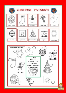 Christmas   Pictionary by me.pdf