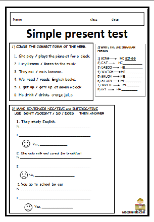 Simple present text.pdf